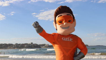 Captain GetUp is the conservative answer to the GetUp! campaign.