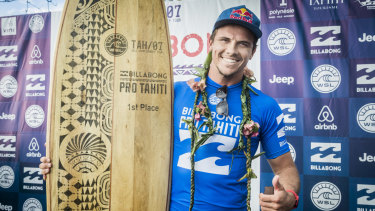 Pro surfer Julian Wilson was among the investors.
