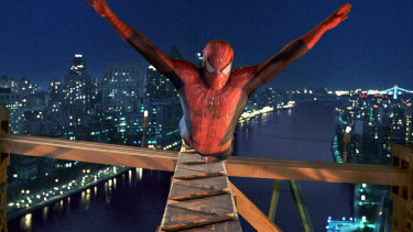 Spider-Man director Sam Raimi removed references to the towers in his 2002 blockbuster.