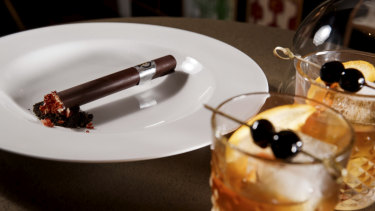 Edible cigars dad? Yes please. QT Perth has a 'man tea' with a difference on the rooftop this Sunday.