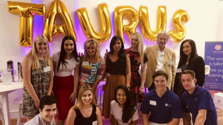 The Taurus Marketing team.
