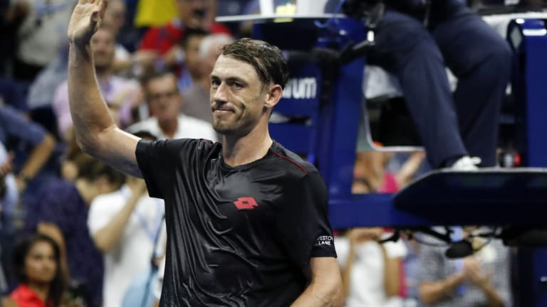 """It's been a long journey"": John Millman."