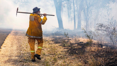 Emergency Services Commissioner Katarina Carroll said homes had been destroyed since Saturday in areas where the fire danger remained too high for teams to enter and assess damage.