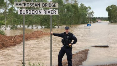 The floods had caused devastation to graziers and farmers but the community banded together and remained in good spirits.