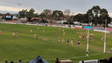 Coburg and Werribee trialled the proposed AFL rule changes for the first time last Saturday.