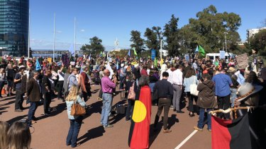 Climate change protesters arrested after storming WA Parliament