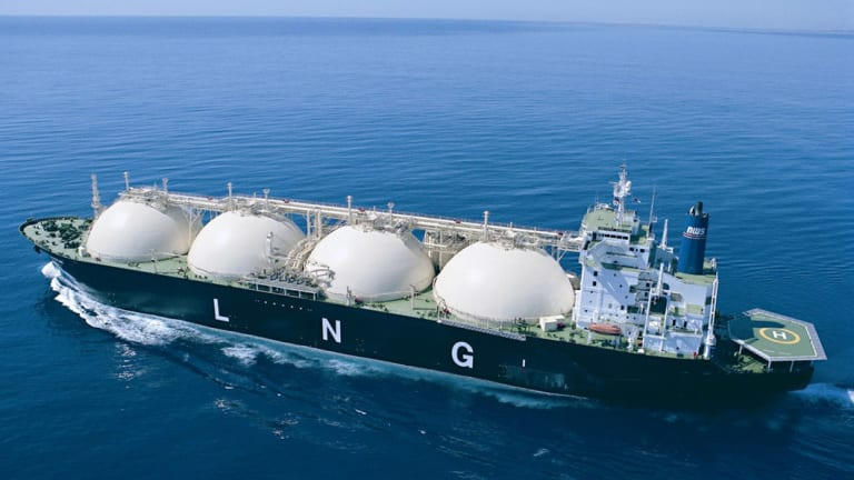 We could have LNG tankers sailing in opposite directions.