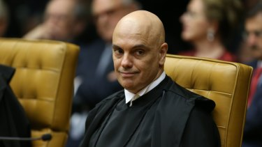 Brazilian Supreme Court Minister Alexandre de Moraes.