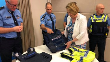 Michelle Roberts and Chris Dawson take a look at the soon to be rolled out vests.