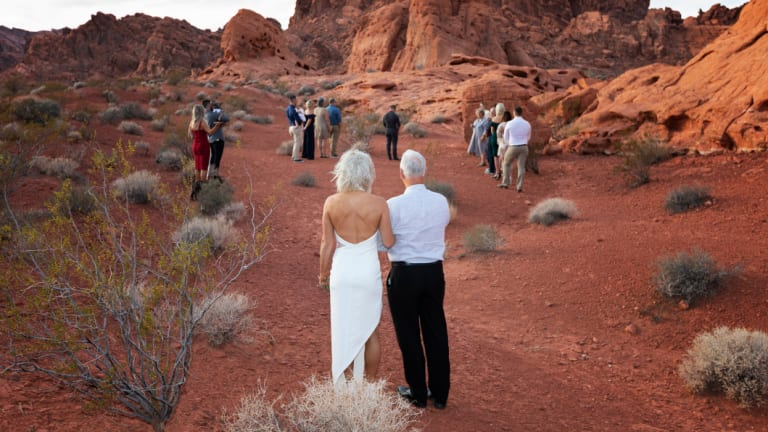 Buchanan and Nobles invited just 12 people to their wedding.