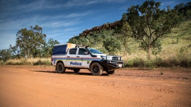 NT police pulled over a woman driving 10 children with no seatbelts on.
