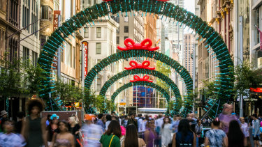 The Christmas throngs may be muted this year as shoppers go online for their gifts.