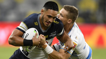 Fans left staring at blank screen as Kayo crashes on NRL's return