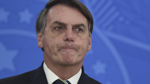 The WHO this week poured cold water on the hopes of Brazilian President Jair Bolsonaro to quickly re-open the economy.