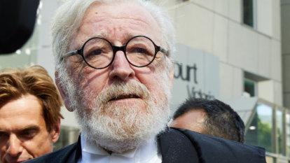 Robert Richter no longer part of George Pell's legal team for appeal