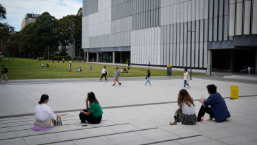 Some class sizes have skyrocketed at the University of NSW since the move to online learning.