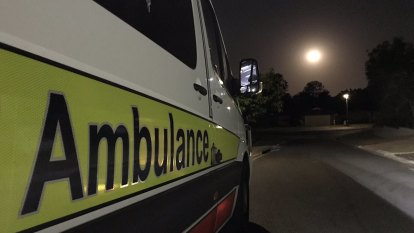 Two cut free, four injured in two-vehicle crash south of Brisbane