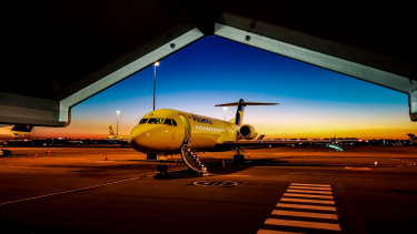 Alliance Airline's Fokker 70 aircraft will be able to accommodate up to 80 passengers.