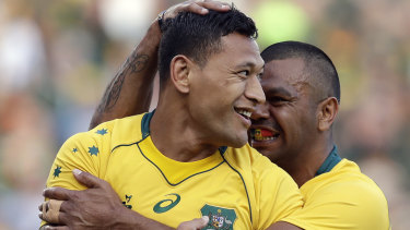 'As a mate you just worry about his head space': Kurtley Beale on Israel Folau