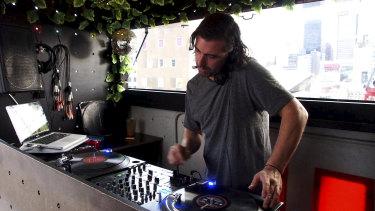 Melbourne DJ Mu-Gen (Brett Little).