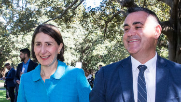 Gladys Berejiklian and John Barilaro have announced their new cabinet.
