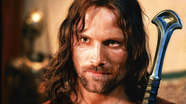 It wasn't until Mortensen was cast as Aragorn in The Lord of the Rings that he became an international star.