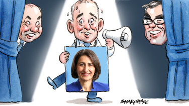 The pressure is on for NSW Liberal state director Chris Stone to deliver. Illustration: John Shakespeare