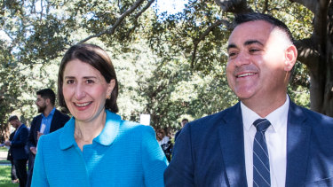 Gladys Berejiklian and John Barilaro have announced their new cabinet.