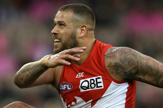 Lance Franklin's goalkicking routine could be impacted by the AFL's newest and most controversial rule change.