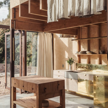 Luxury meets minimalist industrial chic at Ross Farm.