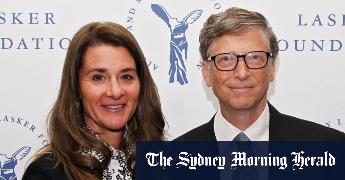 Bill and Melinda Gates split after 27 years of marriage – Sydney Morning Herald