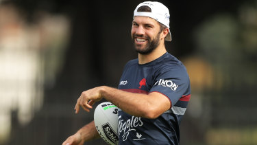Roosters star James Tedesco has signed up with 'football whisperer' Joe Wehbe.