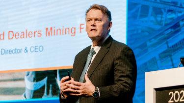 IGO chief executive and managing director Peter Bradford.