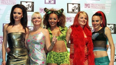 The Spice Girls' debut album, released in 1996, went on to sell more than 20 million copies.