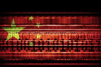 China is being blamed as the most aggressive state actor online.