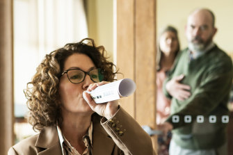 Kitty Flanagan in her new ABC comedy Fisk.