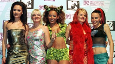 Back in the day ... the Spice Girls (Beckham is on the far left) in 1997.