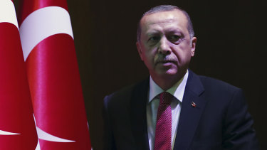 Following the case: Turkey's President Recep Tayyip Erdogan.