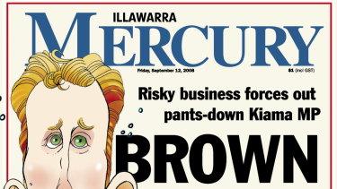 Matt Brown was the former Labor MP in Kiama.