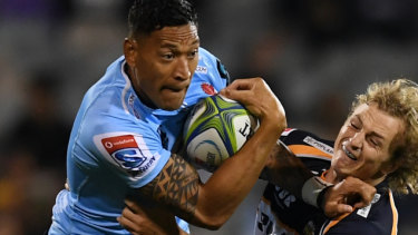 Folau tips below-par Tahs to hit straps for Super Rugby champions