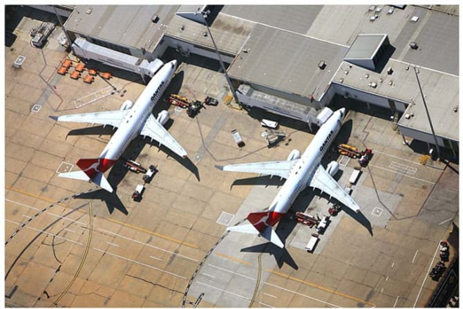 Melbourne Airport: there has been talk of a rail link for years.