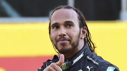 Hamilton fastest in final Russian GP practice