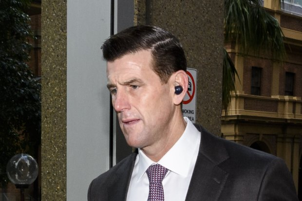 Ben Roberts-Smith arrives at the Federal Court on June 23.