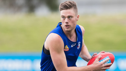 Dogs forward line big enough for Schache, Naughton and Bruce