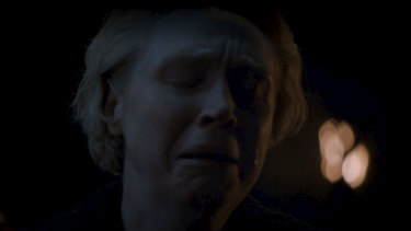 Heartbreaker: Brienne's powerful reaction to Jaime Lannister's departure.