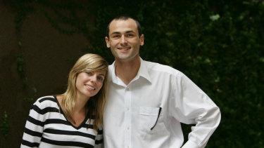 Kristen Hilton and Jack Panton in 2006.