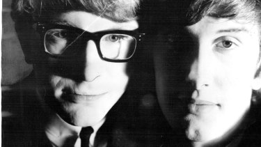 Peter Asher, left, with Gordon Waller in 1964.