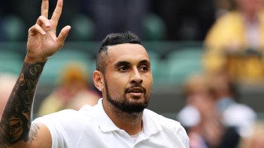 An abdominal injury has cut Kyrgios' run into the second week at Wimbledon short.