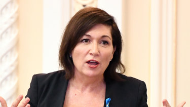 "Queensland Environment Minister Leeanne Enoch said the Department of Environment and Science had outlined ""uncertainties"" following the CSIRO and GeoScience Australia report."
