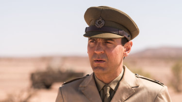 Ewen Leslie in Operation Buffalo.